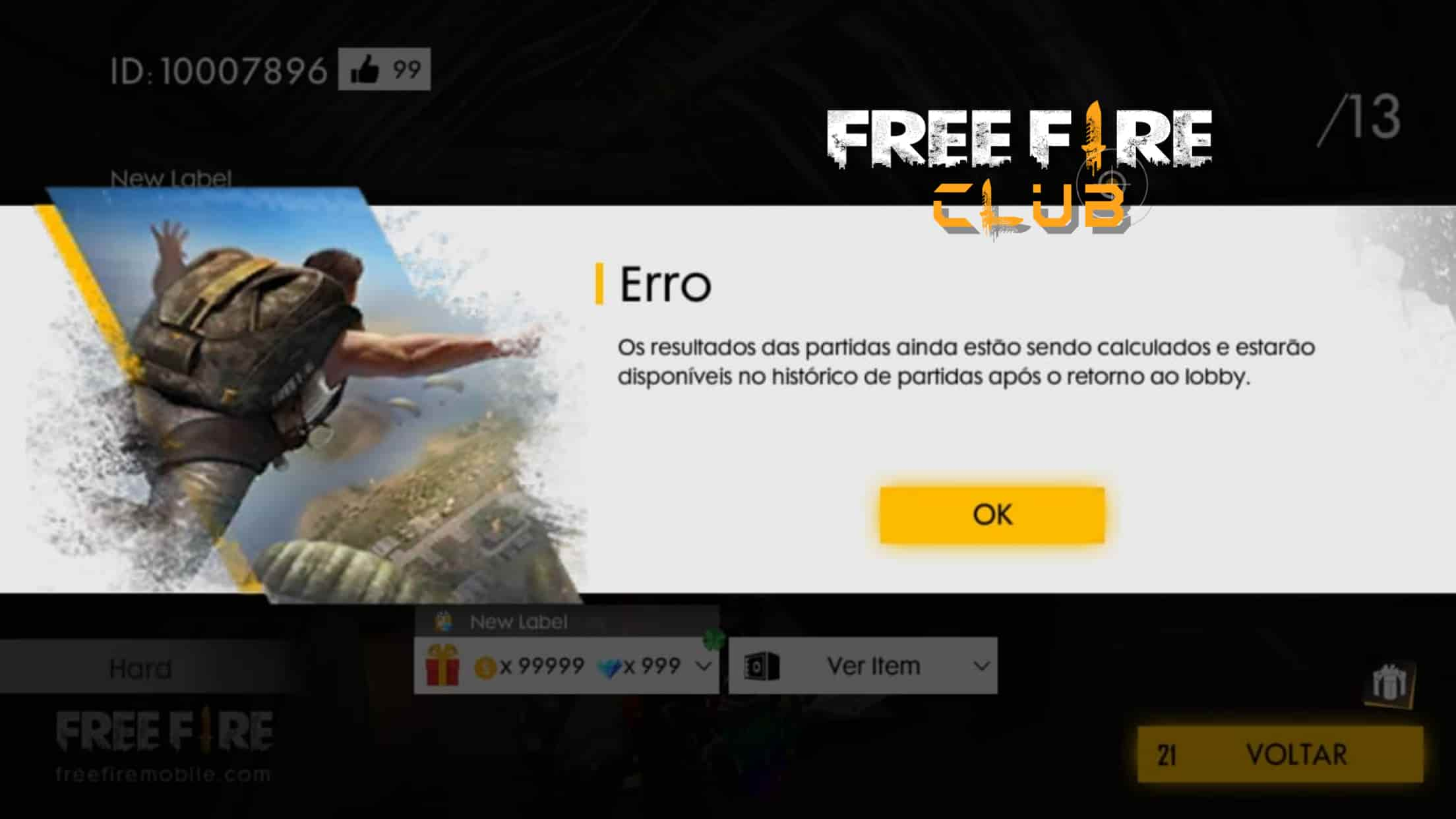 FREE FIRE ESTÁ BUGADO HOJE: VEJA O QUE FAZER