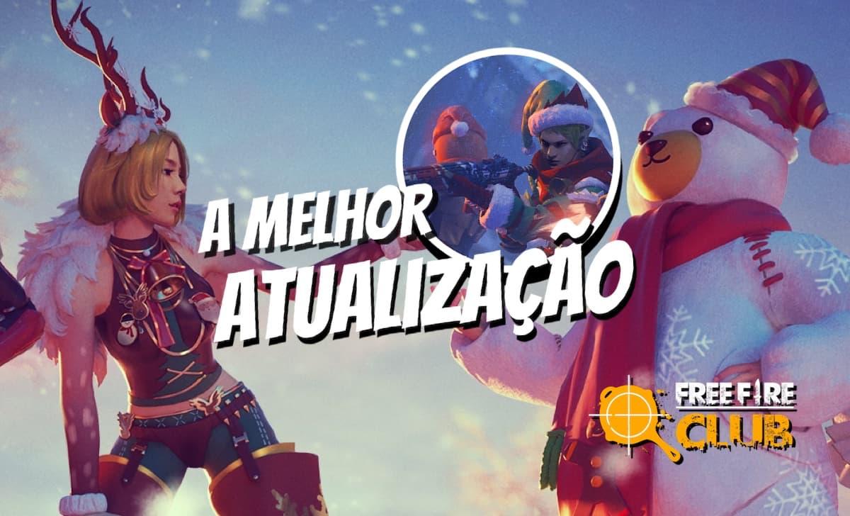 Jogadores Pedem Versao 2 0 Da Atualizacao Free Fire Do Natal 2018 Voce Lembra Free Fire Club