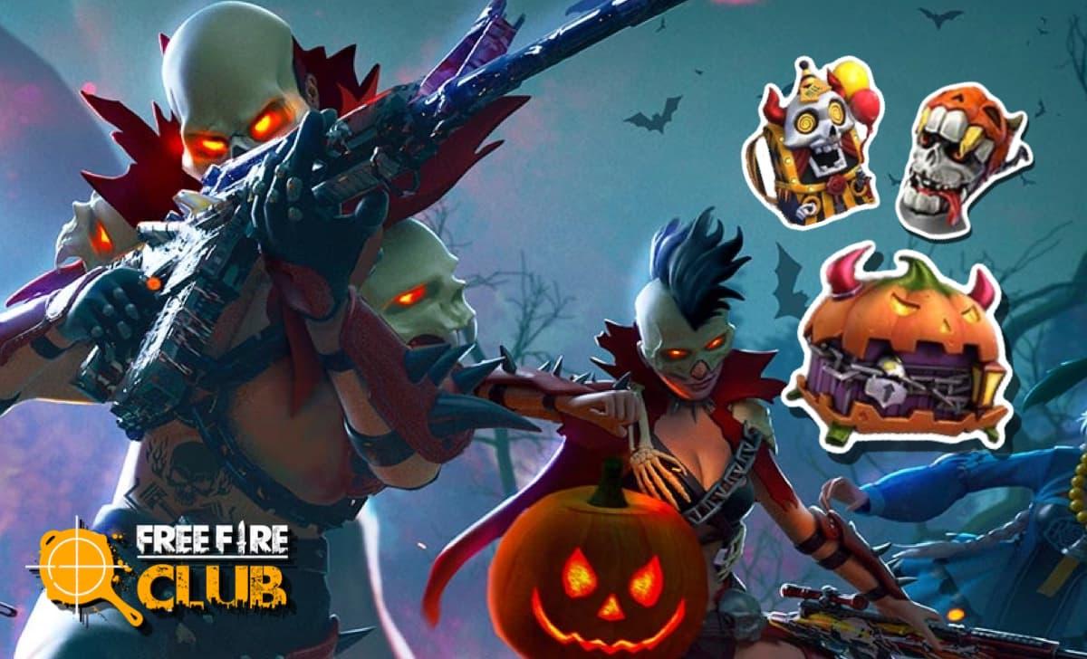 Free Fire Halloween 2020 Veja Os Itens Do Evento Free Fire Club